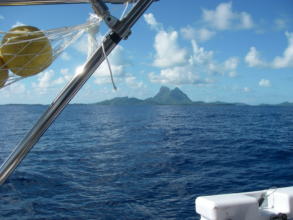 9. Conchita's pamplemousse and Bora Bora were two sights that brough happiness!
