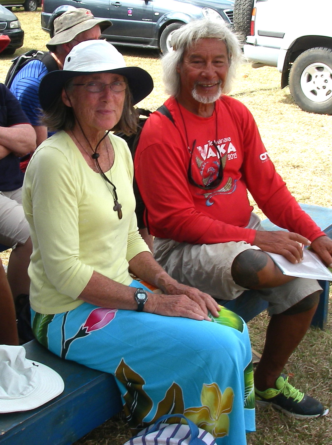 49. Mailagi and Anne at the Agricultural Show of Tonga