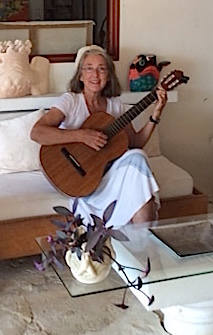 52. Anne loved playing her guitar for Garrick in his villa in Bora Bora.  He knew some of the classic Italian pieces she played for him.  In the morning birds seemed to chirp in time with the music on his veranda!