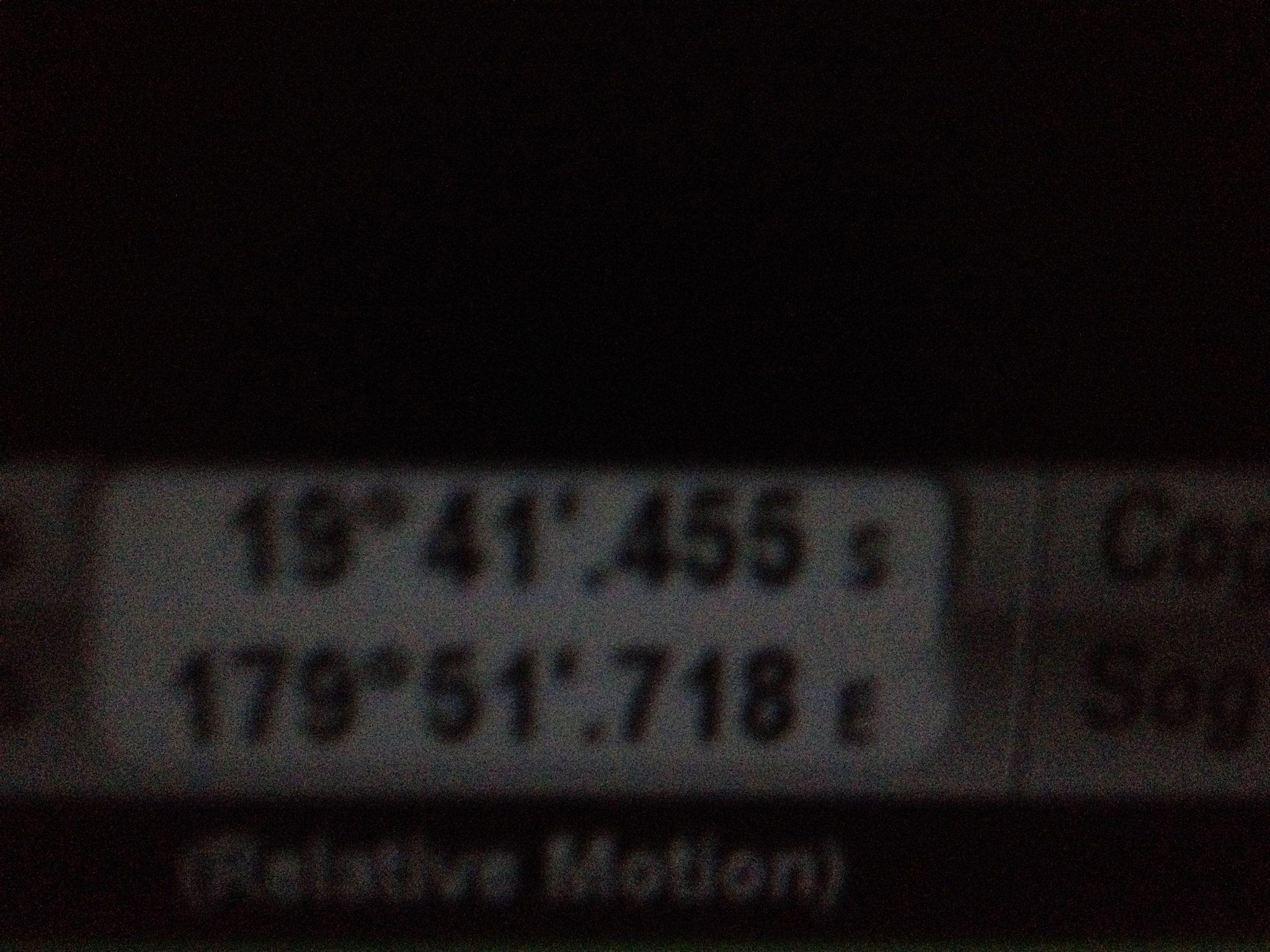 38. On this passage from Tonga to Vanuatu, Joyful crossed the 180th meridian, the International Date Line!!!