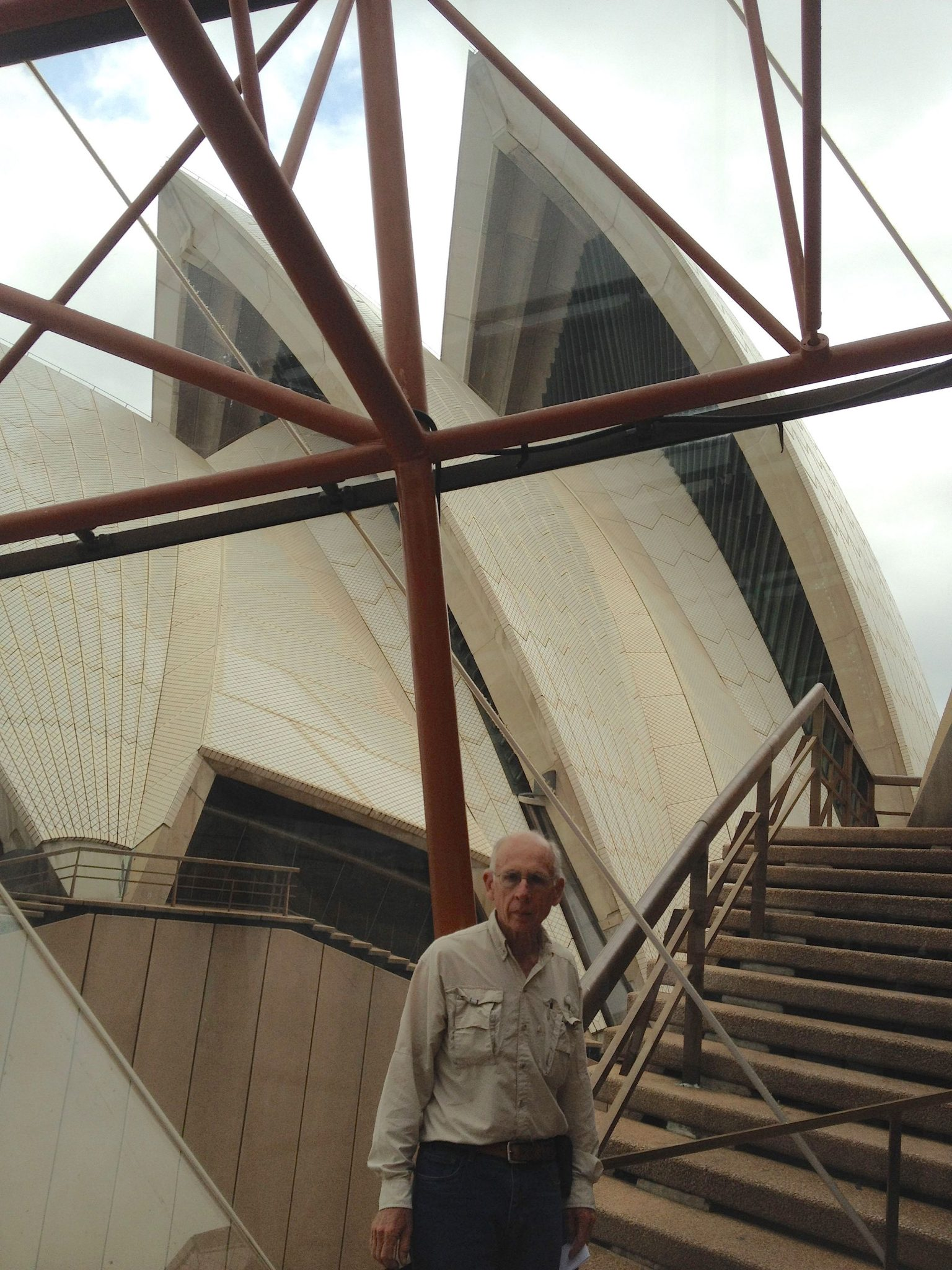 108.1. Jeff at the Sydney Opera House