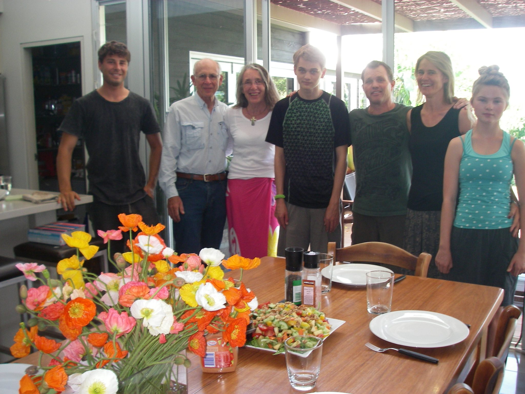 114. American Thanksgiving with friends in Berry, New South Wales, Australia