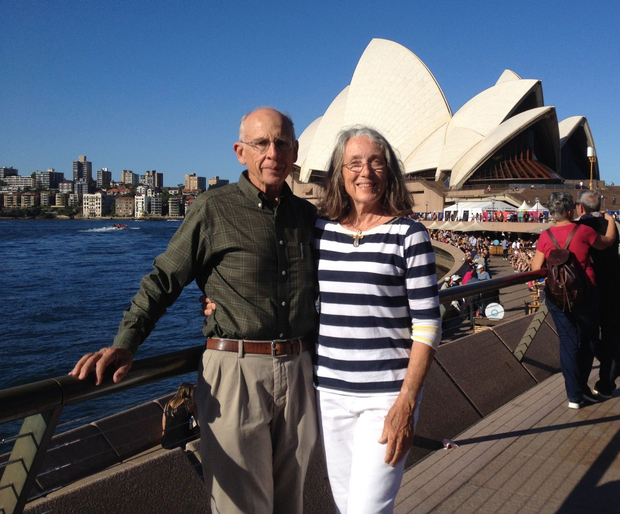 40. Jeff and I at the Sydney Opera House, November 2015