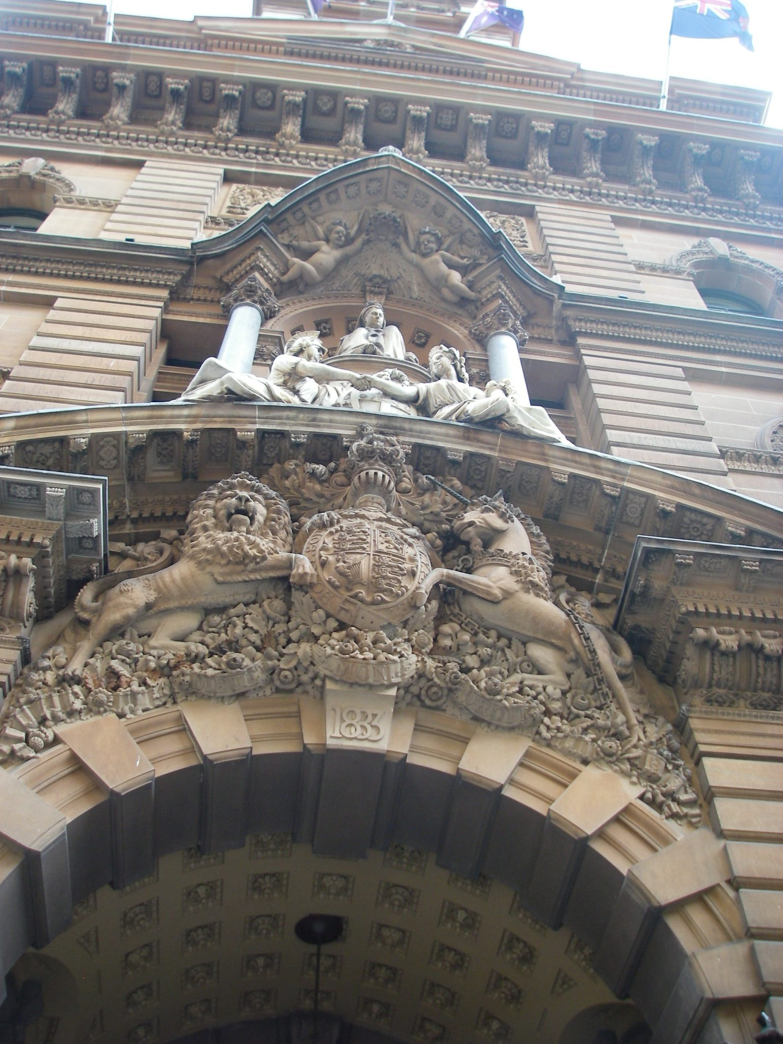 46. Sydney's Queen Victoria Building was built in 1886 to honor the regent upon her visit to Australia