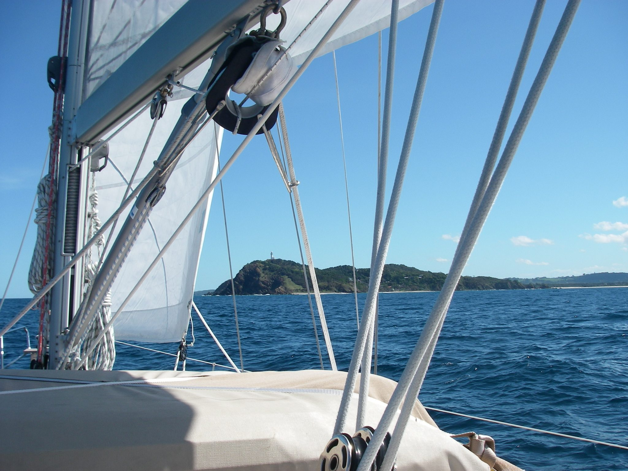 66. Joyful sailing along the east Australian coast on the Tasman Sea