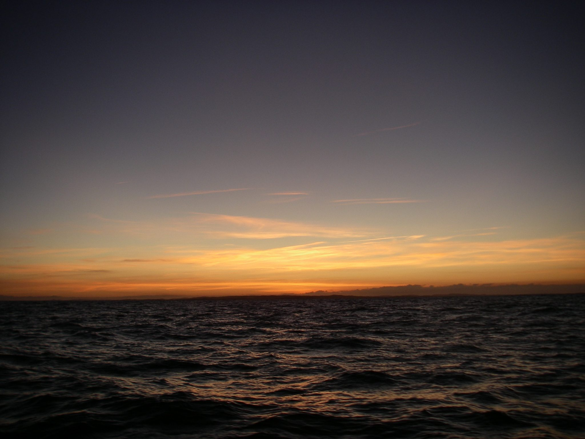 74. Sunset on the Tasman Sea